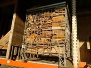 Brennholz 1m Scheite gespalten trocken