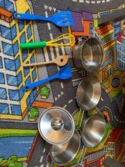 Spielzeug Topf-set