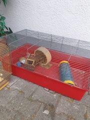 Gebrauchter Hamsterkäfig