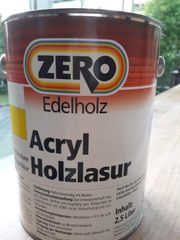 Acryl Holzlasur - wasseverdünnbare Langzeitlasur 2