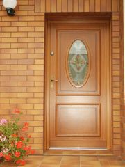 PVC Holz- Fenster und Türen