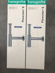 Hansgrohe Design Siphon 2 Stück