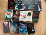 Bücherpaket 39 Bücher Krimis Thriller