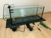 Meerwasser Aquarium mit Zubehör