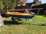 Segelboot Jolle Flying Fish RS