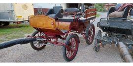 Bild 4 - neuwertige Wagonette in rot - Fränkisch-Crumbach
