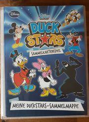 Duck Star Sammelmappe alle Karten