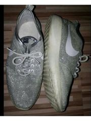 Turnschuhe Nike Silber Gr 37