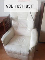 Leder Couchgarnitur Couchtisch
