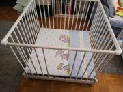 Gebrauchter Geuther Baby Laufstall inkl