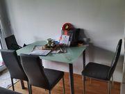 Esstisch samt 4 Stühlen