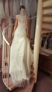 Brautkleid Hochzeitskleid Fuchs A - Linie