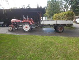 Traktoren, Landwirtschaftliche Fahrzeuge - Traktor Bj 1960
