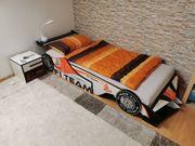 Kinderzimmer Möbel - Autobett Schrank Nachttischkommode