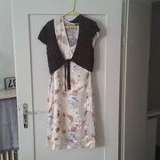 Sommerkleid mit Weste Gr 42