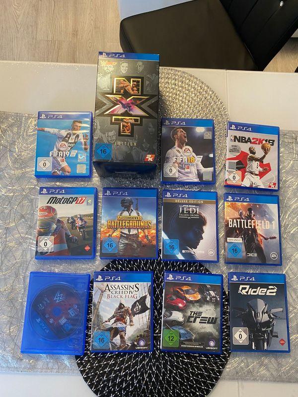12 x PS4 Spiele 2K16