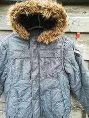 Kinder Winterjacke Gr 140