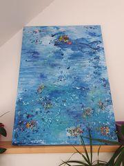 Gemälde 80x110 Acryl