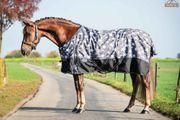 Profi-Rider Regendecke Fleece Sterne Grau