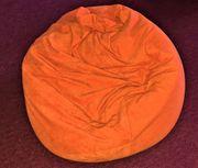 Sitzsack Orange Sitz Sack Sitzmöbel