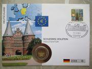 Numisbrief 2011 Holstentor Lübeck