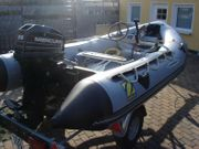 Schlauchboot Zodiac Motor Trailer wie