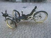 E bike liegerad