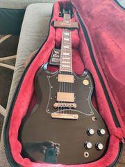Gibson SG Standard schwarz bj
