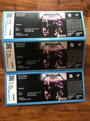 Konzertkarten Metallica