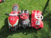 BIG Bobbycars und Spielzeug Motorrad