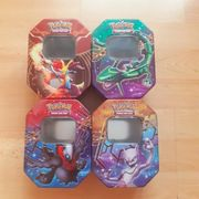 Pokemon Karten Tin Box