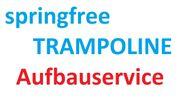 Aufbauservice für Springfree Trampoline Montage