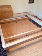 Hochwertiges Doppelbett inklusive Lattenrost und