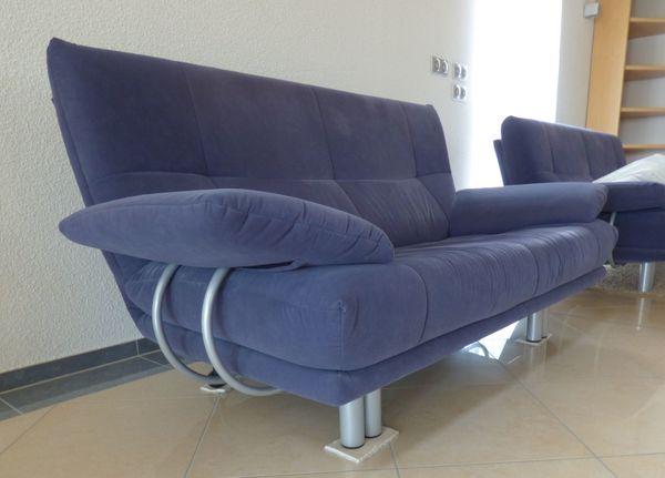 Sofa 25 Sitzer 3 Sitzer Und Hocker In Ilmenau Polster Sessel