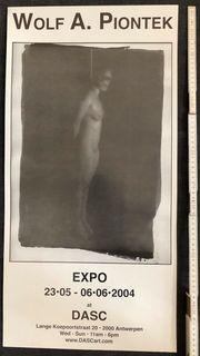 Erot Ausstellungs Plakat Fotoausstellung Wolf