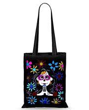 Schöne neue handbemalte Stoff-Einkaufstaschen Catrina