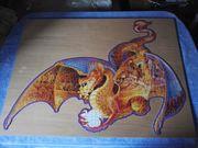 Silhouette Puzzle 956 Teile Drachen