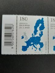Österreich Briefmarke BREXIT