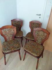 4 Holzstühle