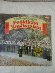 Die Kurpfalzjäger - Fröhliche Musikanten Schallplatte
