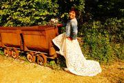 Hochzeitskleid Brautkleid Kleid mit kleiner