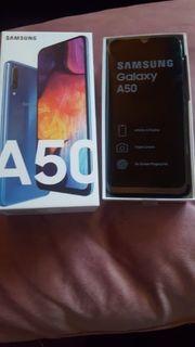 samsung a50 neu 128gb blau