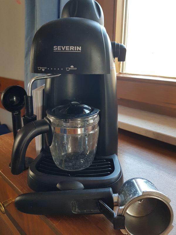 Severin Espressomaschine mit Aufschäumer