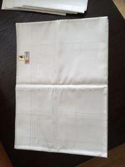 Tischdecke weiß Reinleinen 130x220