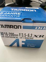 Tamron AF 18-200mm F 3