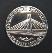 Schweizer Medaille Rheinbrücke Diepoldsau 835