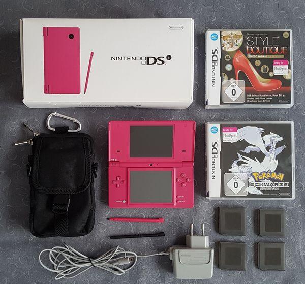 Nintendo DSi Pink 2 Spiele