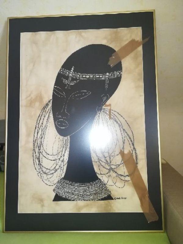 Heidi Lange Batik Maasai Women