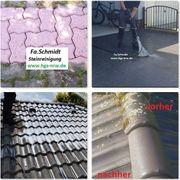 Steinreinigung Fassadenreinigung Dachreinigung Flächenversiegelung feste