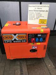 Diesel Generator Stromgenerator Stromaggregat mieten